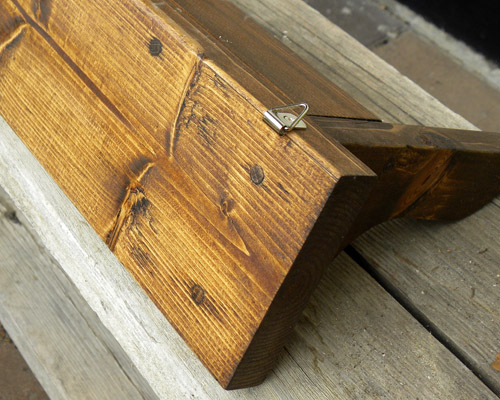 木製アンティークシェルフ