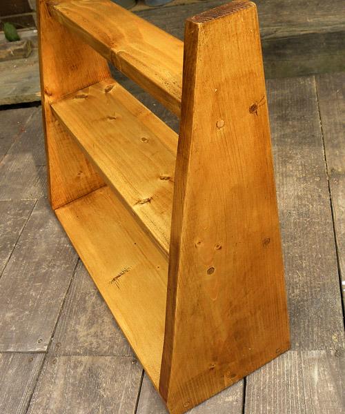 オリジナル木製ラック